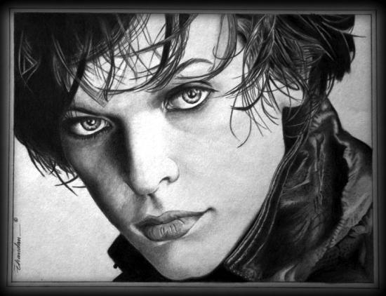 Milla Jovovich por Chandan